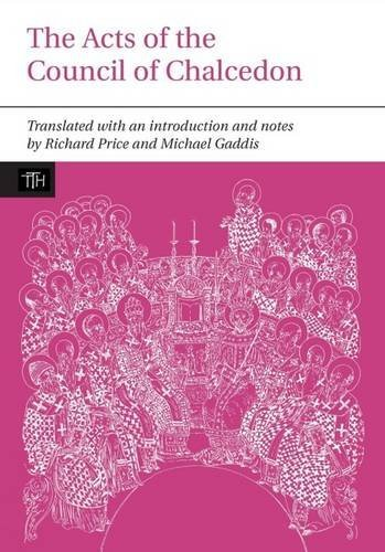 51XSiJM+ZCL - Acts of the Council of Chalcedon (Liverpool University Press - Translated Texts for Historians)