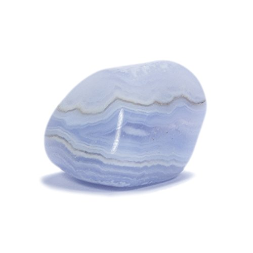 chalcedon blau kalzedon trommelsteine 1 stk groesse ca 25x20mm - Chalcedon blau, Kalzedon Trommelsteine 1 Stk. (Größe ca. 25x20mm)