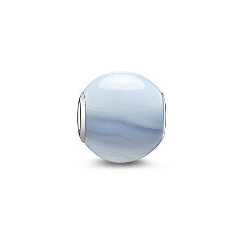 thomas sabo chalcedon bead silber hellblau k0072 591 1 - Thomas Sabo Chalcedon Bead Silber hellblau K0072-591-1